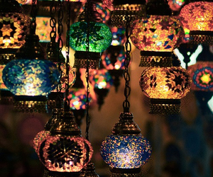 asian, colors, and lampen image