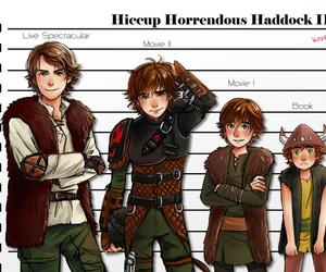 hiccup, fanart, and how to train your dragon image