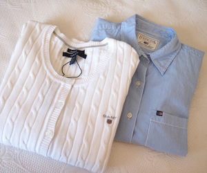 fashion, gant, and outfit image