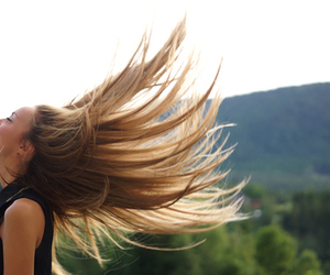 hair, beautiful, and girl image
