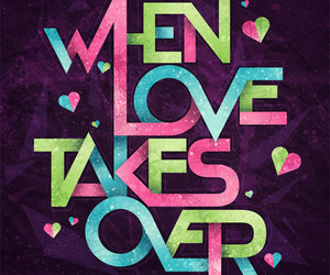 love, text, and typography image