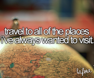 travel, Dream, and places image