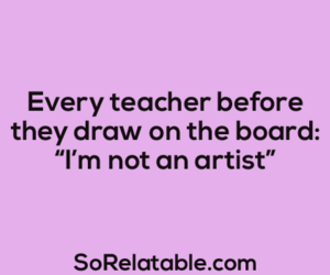 quote, teacher, and artist image
