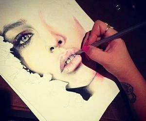 art, photography, and tatoo image