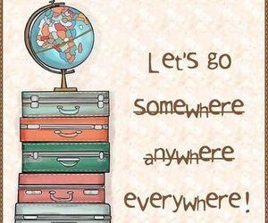 travel, everywhere, and world image