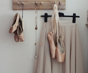 ballet, ballet shoes, and pastel image