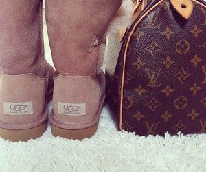 ugg, bag, and Louis Vuitton image