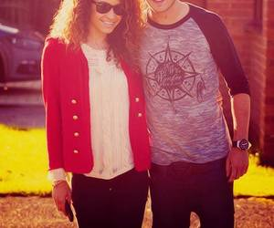 liam payne, danielle peazer, and one direction image