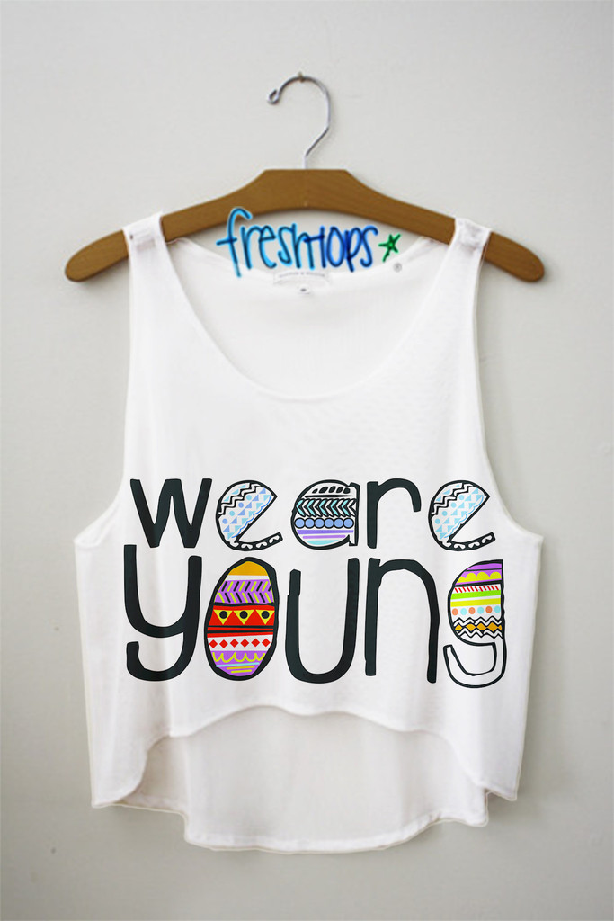 affa5dfd0754af We Are Young Crop Top - Fresh-tops.com on We Heart It