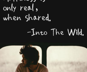 into the wild and share image