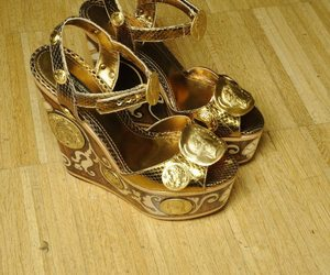 dolce and gabbana, wedges, and fashion image
