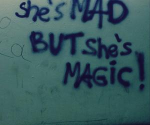 mad, magic, and wall image