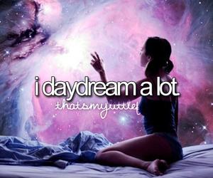 Dream, daydream, and galaxy image