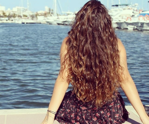 amazing, curly hair, and girl image