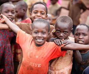 smile, africa, and happy image