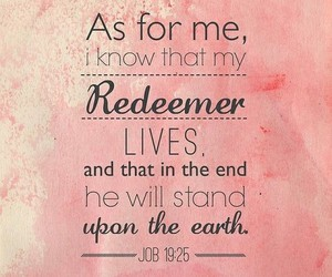 god, bible, and redeemer image