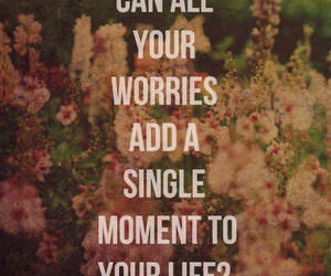 worry, bible, and life image