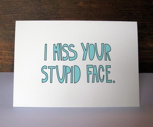 miss, face, and stupid image