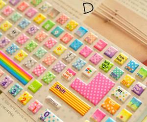 cute and keyboard image