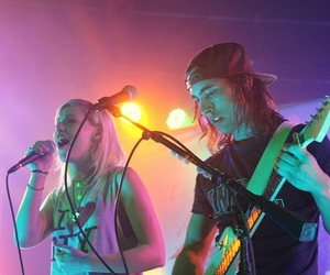 vic fuentes, tonight alive, and jenna mcdougall image