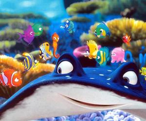 nemo, disney, and finding nemo image