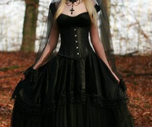gothic and black image