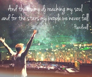 hardwell and rave image