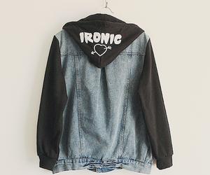 ironic, fashion, and jacket image