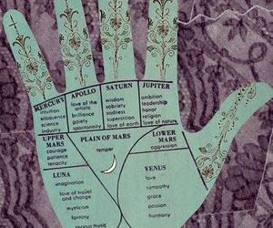 hand, planet, and magic image
