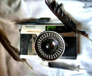 camera, hair, and hippie image