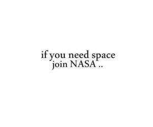 space, quote, and nasa image