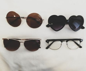 sunglasses, glasses, and hipster image