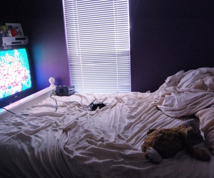 animal crossing, bed, and cuddle image