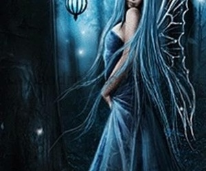 angel, blue, and Fairies image