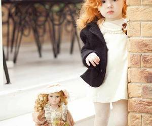baby, doll, and sweet image