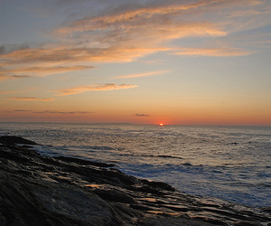 dawn, Maine, and ocean image