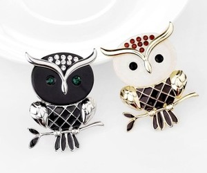 owl pin brooches