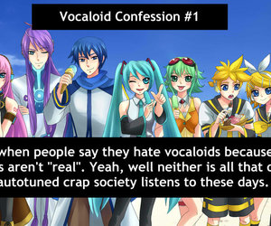 1, confession, and miku image
