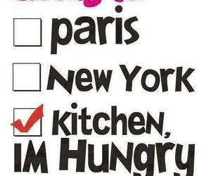 hungry, kitchen, and paris image