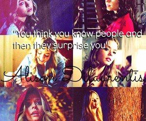 anonymous, alison dilaurentis, and quotes image