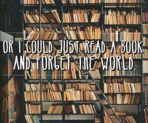 book, world, and read image