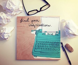 inspiration, glasses, and quotes image