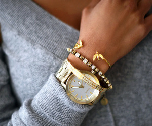 accessories, elegance, and fall image