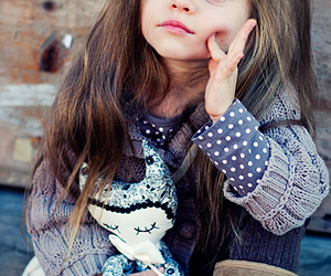 beautiful, baby, and style image
