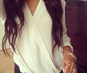 accessories, brunette, and fashion image