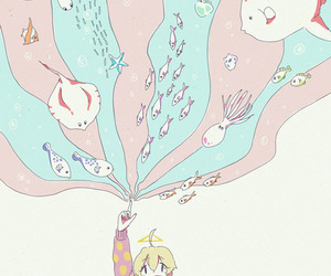 haru, tsuritama, and sdfsg image
