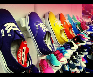 colors, shoes, and van's image