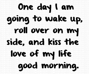 love, kiss, and quotes image