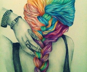 colors, earrings, and nails image