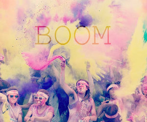 boom, party, and colors image